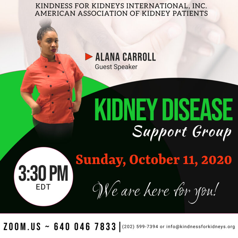 October 2020_Support Group Flyer